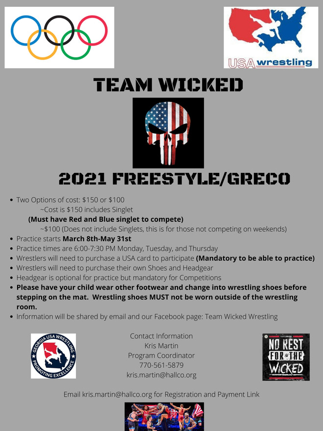 Team Wicked Information Flyer